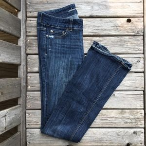AEO Artist Stretch Mid Rise Jeans